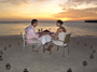 Romantic Candlelight Seafood Dinner on the Beach
